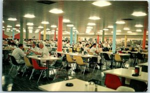 North Chicago, Illinois Postcard Employee cafeteria at ABBOTT LABORATORIES