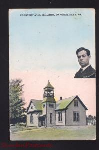 GATCHELVILLE PENNWYLVANIA PA. METHODIST EPISCOPAL CHURCH