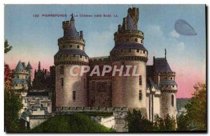Old Postcard Pierrefonds Chateau