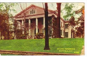 BUFFALO, New York, 1900-1910's; Wilcox Residence