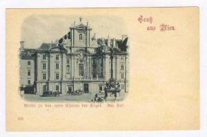 Gruss aus Wien, Austria, 1890s   Kirche in den neun Thoren Der Chapel. Am Hof