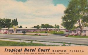 Florida Bartow Tropical Hotel Court