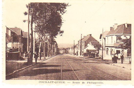 Belgium - Couillet-Queue - Route de Phillippeville