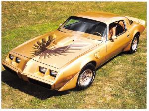 Giant Size Postcard Pontiac Firebird Trans Am 1979, Motor Car, Automobile OS40