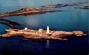MA - Boston. Lighthouse at Boston Harbor