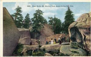 CO - Mt. Manitou Park, Stage Rocks, Scenic Incline Railway