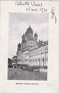 India Calcutta The Kalighat Temple 1920