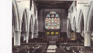 Interior, Crosthwaite Parish Church, Keswick, England, UK, 1900-1910s