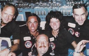 Space; STS-7 Crew , Johnson Space Center , Houston , Texas , 1980s [Sally K. ...