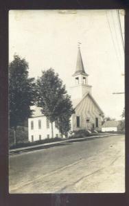 SUNAPEE NEW HAPSHIRE METHODIST CHURCH N.H. VINTAGE REAL PHOTO POSTCARD
