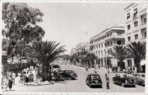 Ethiopia Asmara airmail to Austria Avenue Halle Sellassie animated street & cars