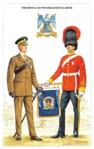 Postcard British Army Series No.5 The Royal Scots Dragoon Guards by Geoff White