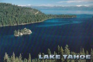 Nevada Lake Tahoe Panoramic View