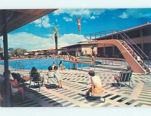 Unused Pre-1980 POOL & SANDS MOTEL Las Vegas Nevada NV u4821