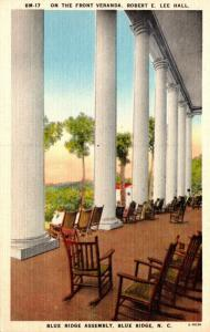 North Carolina Blue Ridge Robert E Lee Hall Front Veranda Blue Ridge Assembly
