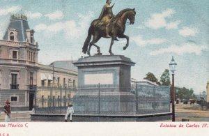 Mexico C. , Estatua de Carlos IV , 00-10s