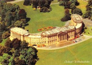 Kassel Schloss Wilhelmshoehe Castle Air view Chateau Voitures Cars