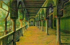Algeria Constantine Interior of Palace Der El Bey Postcard