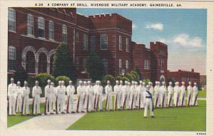 A Company At Drill Riverside Military Academy Gainesville Georgia