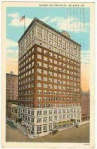 Robert Fulton Hotel, Atlanta, Georgia, 1910-20s PU