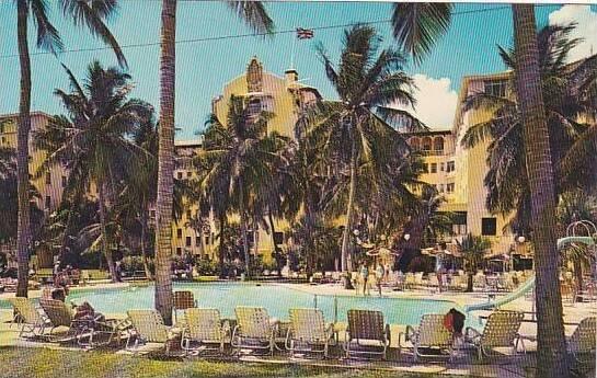 Bahamas Nassau Sheraton British Colonial Hotel & Swimming Pool