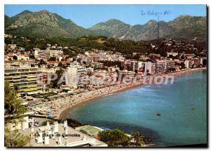 Old Postcard Sun of the Riviera Beach Carnoles Menton