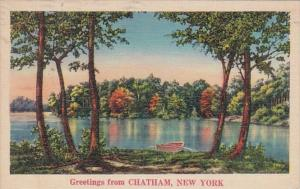 New York Greetings From Chatham 1939