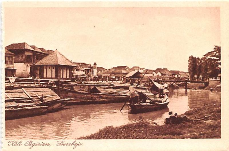 Soerabaja Indonesia, Republik Indonesia Kali Pegirian Soerabaja Kali Pegirian