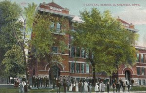 OELWEIN , Iowa , PU-1911; Central School 03