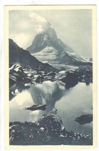 Lac Du Riffel Et Le Cervin, 4505m., Zermatt, Valais, Switzerland, 1910-1920s