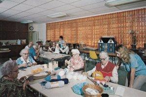 BURLINGTON , New Jersey , 50-60s ; Arts & Crafts at Masonic Home