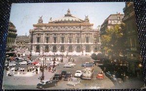 France Paris Place de l'Opera - posted 1968