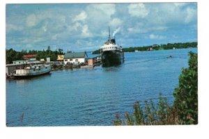SS Norisle, Tobermory to South Bay Mouth, Manitoulin Island, Ontario,