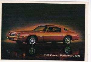 1980 Chevrolet Camaro Berlinetta Coupe