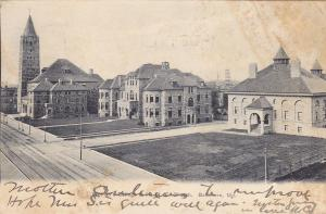 BALTIMORE, Maryland; PU-1915; Women's College & 1st M. E. Church