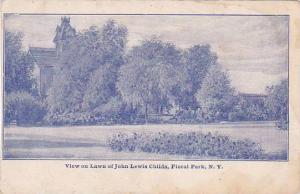 New York Floral Park View On Lawn Of John Lewis Childs