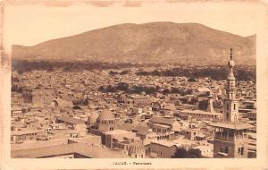 Damas, Syria Postcard, Syrie Turquie, Postale, Universelle, Carte Panoroma Da...