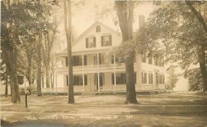 Eastern Old Colony Inn Walpole New Hampshire 1920s RPPC Photo Postcard 13189