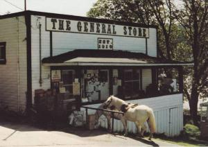 The General Store, Port Washington, North Pender Island, B.C., Canada, 50-70s
