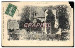 Postcard Old Calvados Chateau of Cressonniere
