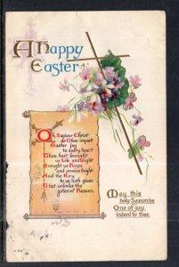 Easter Flowers Cross