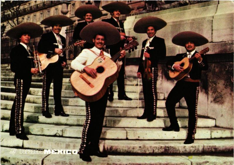 CPM France - Folklore - Mexican Musicians (770269)