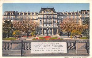 Switzerland Postcard Le Palais des Nations