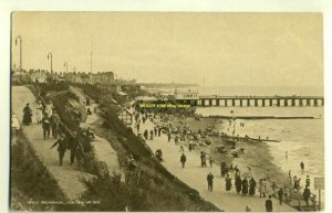 tp2750 - West Promenade , Clacton-on-Sea , Essex - postcard