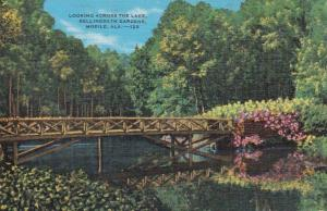 Alabama Mobile Looking Across The Lake In Bellingrath Gardens
