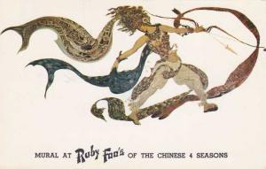 Mural at Ruby Foo's Chinese Restaurant - New York City