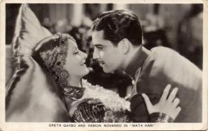 CPA Artiste Cinema Film Greta Garbo and Ramon Novarro (88544)