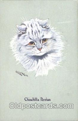 3d89dfc68 Artist Louis Wain Cat Cats Postcard Post Card Artist Louis Wain Cat Cats Pos...  / HipPostcard