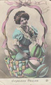 RP: Woman & EASTER Eggs , 00-10s