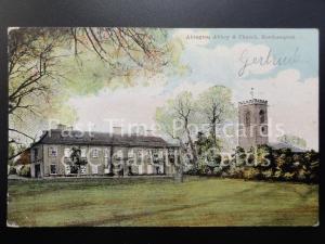 c1907 Abington Abbey & Church, Northampton